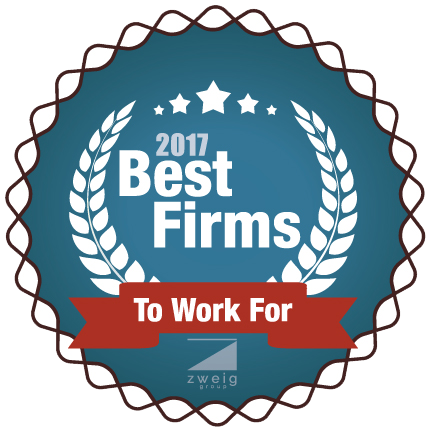 2017 Best Firm to Work For Award