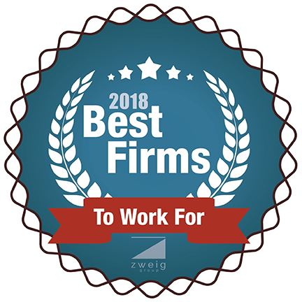 2018 Best Firm to Work For Award